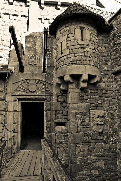 From Top Courtyard - Castle of Haut-Koenigsbourg