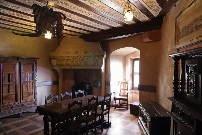 On of many rooms (Lorraine room) - Castle of Haut-Koenigsbourg