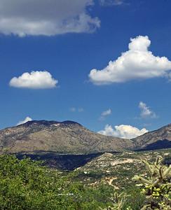 Cumulus over Catalinas