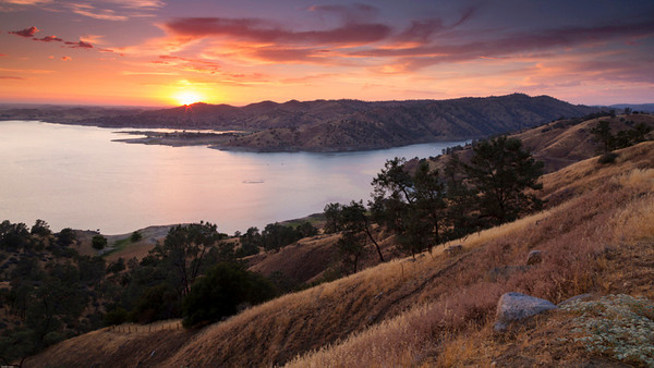 Summer Evening at Millerton Lake