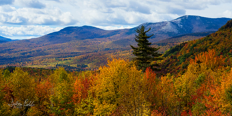 Evan's Notch Overlook - Maine