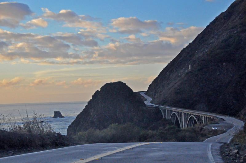 Highway 1 near Big Sur
