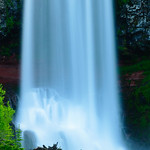 Bottom of Tumalo Falls near Bend Oregon. 6658