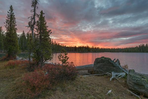 Summit Lake Sunrsie