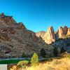Smith Rock State Park - Terrebonne, Oregon, crooked river, monkey face, hiking, trail