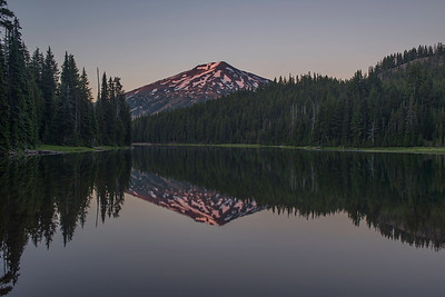 Todd Lake sunrise