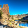 Smith Rock State Park - Terrebonne, Oregon, crooked river, monkey face, hiking, trail