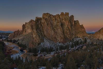 Smith Rocks Sunrise