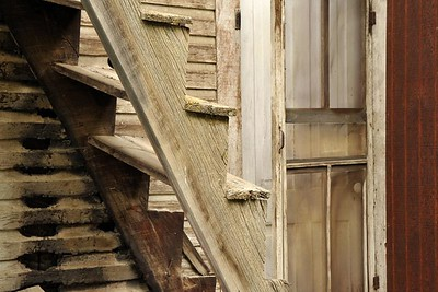 Mitchell Oregon Stairs
