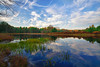 Pennsylvania, Farmland, Pond, Fall Colors, Reflection, HDR, Landscape, 宾夕法尼亚 田园, 风景