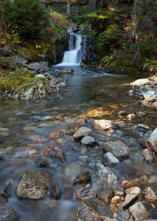 Falls on the headwaters of Icicle Creek