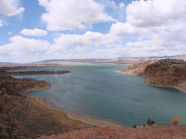 Chama River, Abiquiu Lake, NM 2013-04