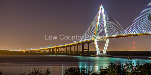 Ravenel Bridge - Charleston SC  ======= Scroll Down for more Ravenel Bridge Photos =======