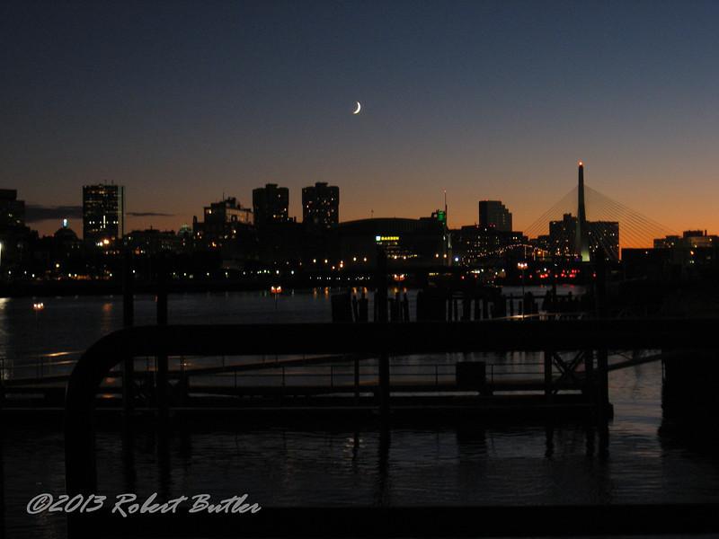 Charlestown Navy Yard looking at Boston