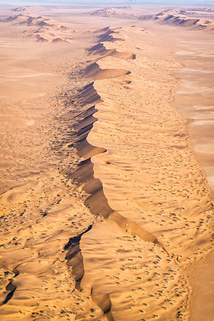 The endless dunes of the Skeleton Coast