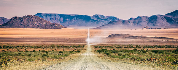 Neverending Horizons in Namibia