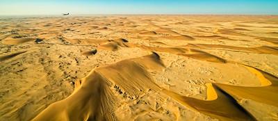 Vast seas of Namibian Dunes