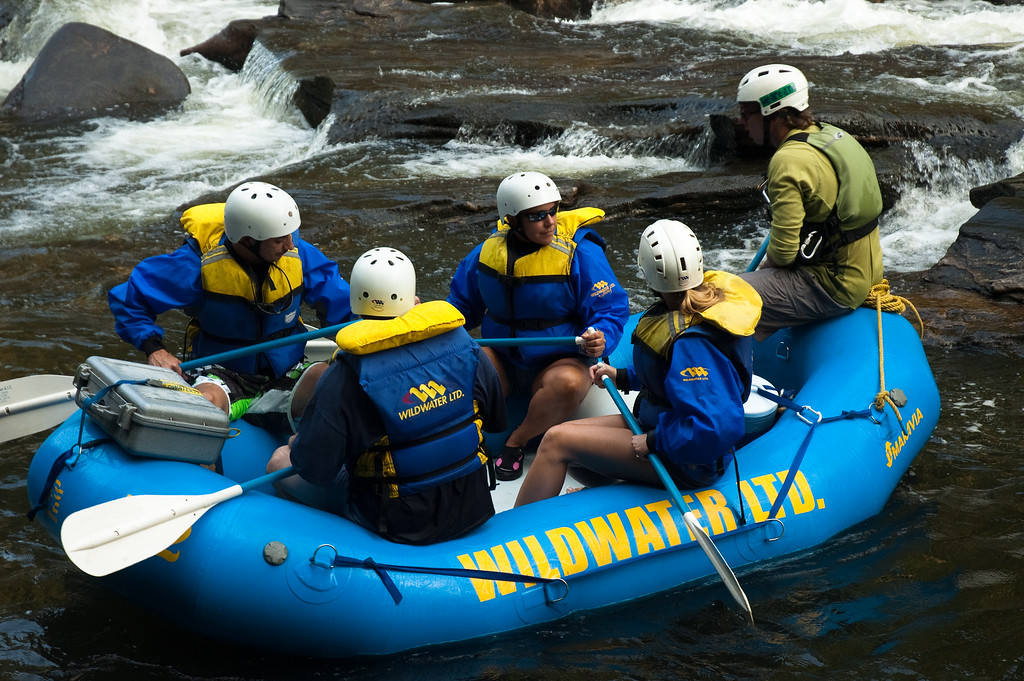 Chattooga River Rafting