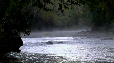Morning mist on the Chattooga River video