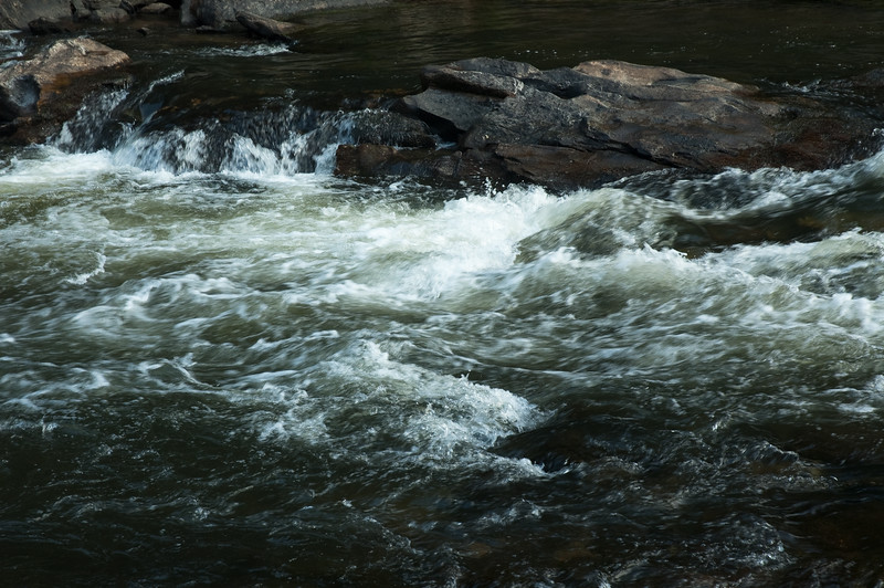 Rapids on the Chattooga River