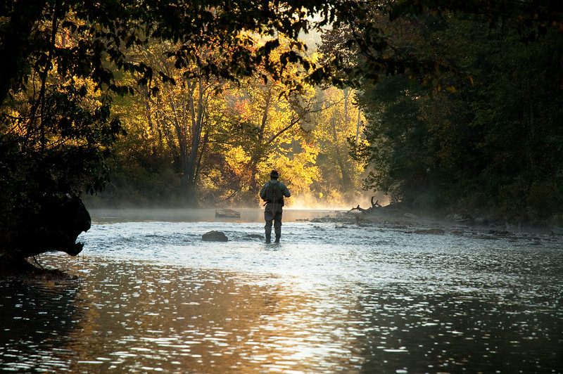 Fly Fishing on the Chattooga River