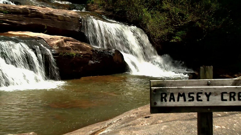 "Video of Ramsey Creek Falls at Chau Ram Park,in Oconee County SC<br />  <a href=""http://www.oconeecountry.com/chaurampark.html"">http://www.oconeecountry.com/chaurampark.html</a>"