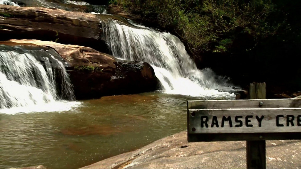 "Video of Ramsey Creek Falls at Chau Ram Park,in Oconee County SC<br />  <a href=""http://www.oconeecountry.com/chaurampark.html"">http://www.oconeecountry.com/chaurampark.html</a>"