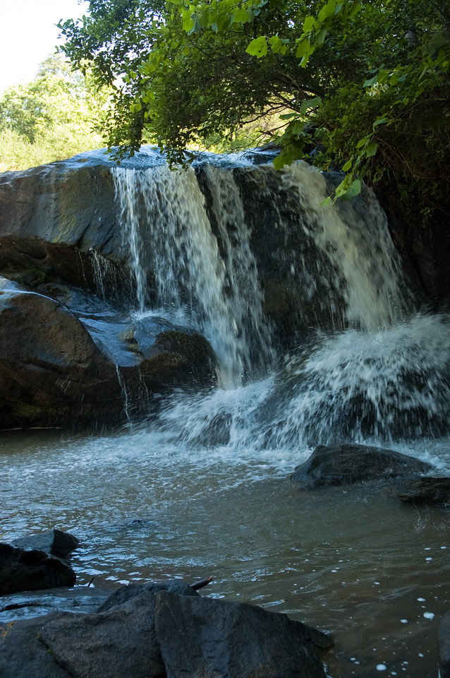 Ramsey Creek Falls in Chau Ram County Park