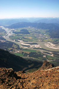 Fraser Valley from Cheam Peak