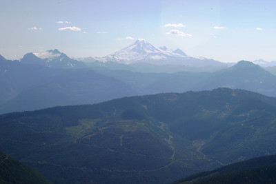 Mt. Baker in Washington State, US. This is my climbing goal...it's 10,778 ft! Cheam peak is 6,903