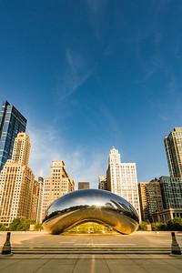 Chicago ~ Cloud Gate, The Bean