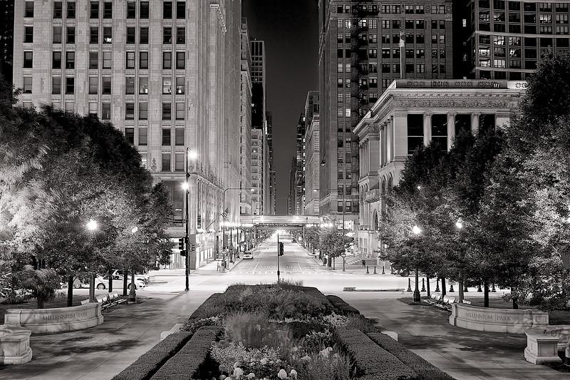 Chicago  285 - b&w