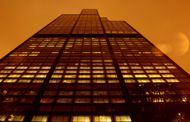 Sears Tower, January.