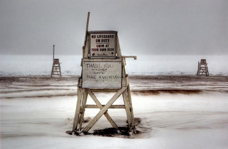 Glencoe beach, February (number 1).