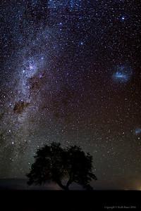Night sky near San Pedro