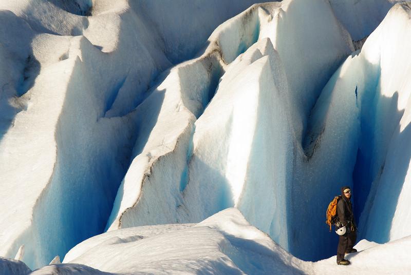 Ice Climbing Glaciar Grey, Torres del Paine, Patagonia
