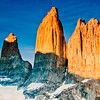 Torres Del Paine. Clear days are a rarity.