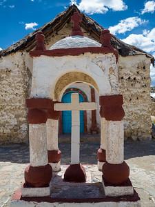 Church entrance - Parinacota