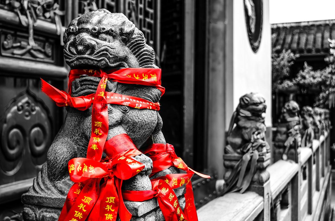 The Beast in Jade Buddha Temple