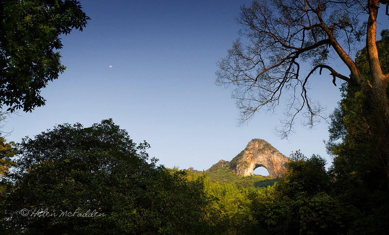 Moon Hill - moon sky