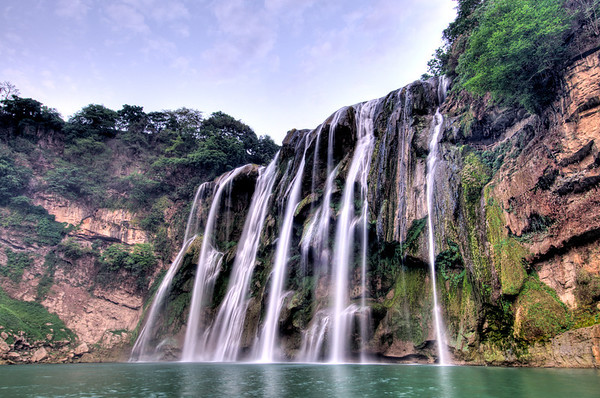 Huangguoshu waterfall in Guizhou.