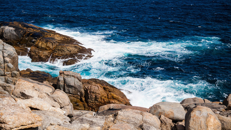 Great Southern Ocean - Huge, Higher and Rocky, so much different than Indian Ocean (Blow-hole in Albany)