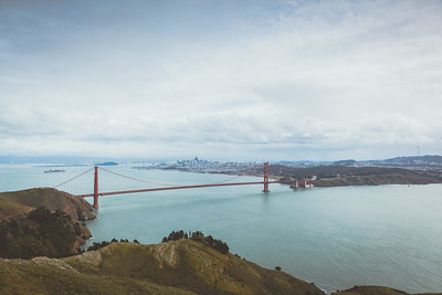 The Bay Area from Hawk Hill