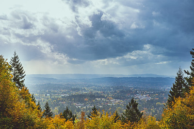 Beaverton, Oregon from Council Crest Park