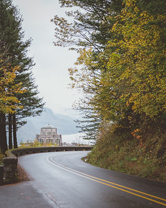 Vista house & The Columbia River