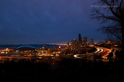 Winter Night in Seattle