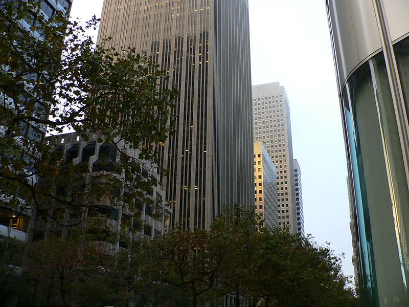 Steel Canyon (West Up Market St. from One Front St.)