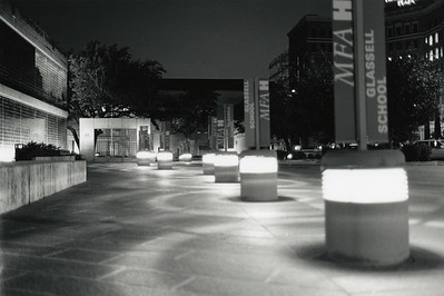 Nighttime at Glassell