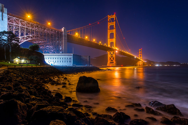 Golden Gate Blue Hour