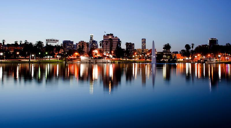MacArthur Park dawn